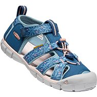 Keen Seacamp II CNX Youth real teal/stone blue - Sandály