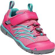 Keen Chandler CNX Children bright pink/lake green - Trekové boty