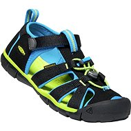 Keen Seacamp II CNX JR. Black/Brilliant Blue EU 35 / 216mm - Sandals
