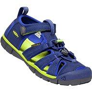 Keen Seacamp II CNX JR. Blue Depths/Chartreuse - Sandals