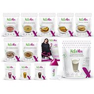 KetoMix Ketone diet for 3 weeks - 9 pcs + 3 flavors, 3985 g - Set