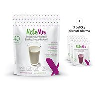 KetoMix Cocktail 40 Servings + 3 Flavours, 1335g - Protein