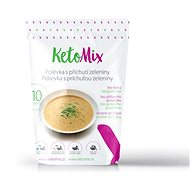 KetoMix Protein Soup, 300g (10 servings) - with Vegetable Flavour - Long Shelf Life Food