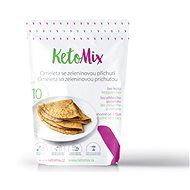 KetoMix Protein Omelette, 320g (10 Servings) - Vegetable Flavour - Long Shelf Life Food
