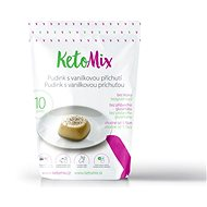 KetoMix Protein Pudding with Vanilla Flavour - 300g (10 Servings) - Protein