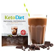 KetoDiet Protein Ice Coffee with Chocolate Flavour (7 Servings) - Long Shelf Life Food