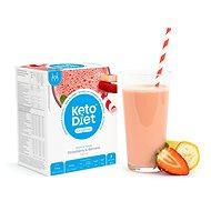 Trvanlivé jídlo KetoDiet proteinový nápoj - jahoda a banán (7porcí)