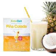 KetoDiet Protein Drink - Pina Colada (7 Servings) - Long Shelf Life Food