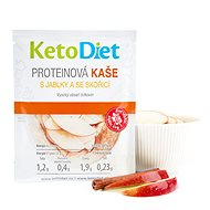 KetoDiet Protein Porridge with Apples and Cinnamon (7 Servings) - Protein Puree