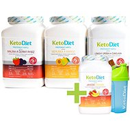 KetoDiet Protein Drinks for 3 Weeks + 1 Week FREE (140 Servings) - Set