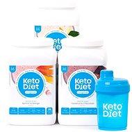 KetoDiet 3 týdenní proteinové nápoje MEDIUM 1. krok - Proteinová sada