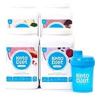 KetoDiet 4 týdenní proteinové nápoje INTENSE 1. krok - Proteinová sada