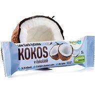 KetoLife Low Carb tyčinka - Kokos v čokoládě