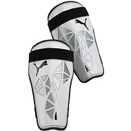 Puma Pro Training grd no Ankle Sock white-met - Fotbalové chrániče