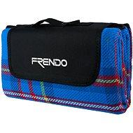 Frendo Picnic Rug-Acrylic 1 Modrá - Deka