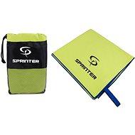 Sprinter - ručník z mikrovlákna 100 × 160 cm - zelený - Ručník