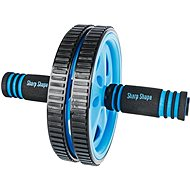 Sharp Shape AB Wheel blue - Posilovací kolečko