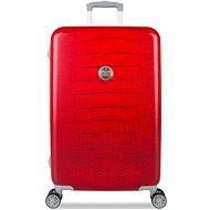 Suitsuit Red Diamond Crocodile M - Cestovní kufr s TSA zámkem