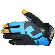 Haven Singletrail Long black/blue - Cyklistické rukavice