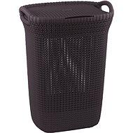 Curver Knit 57L fialový - Koš na prádlo