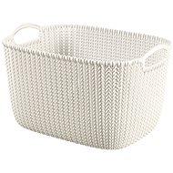 Curver Knit košík 19L krémový - Úložný box
