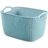 Curver Knit košík 19L modrý - Úložný box