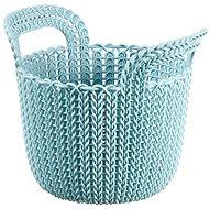 Curver Knit košík kulatý 3L modrý - Úložný box
