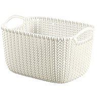 Curver Knit košík kulatý 8L krémový - Úložný box