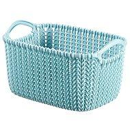Curver Knit košík 3L modrý - Úložný box