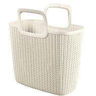 Curver Knit Shopping bag krémová - Nákupní taška