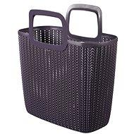 Curver Knit Shopping bag fialová - Nákupní taška