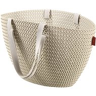 Curver Knit Emily Cream Bag - Shopping Bag