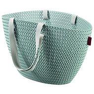 Curver Knit taška Emily šedomodrá - Nákupní taška