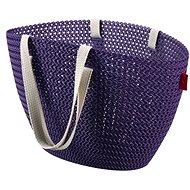 Curver Knit taška Emily fialová - Nákupní taška