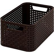 Curver Style box S tmavě hnědý - Úložný box