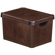 Curver Decobox - L - Leather - Úložný box