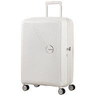 American Tourister Soundbox Spinner 67 Exp Pure White - Cestovní kufr s TSA zámkem