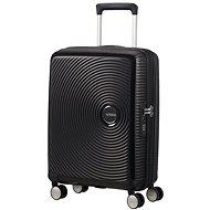 American Tourister Soundbox Spinner 55 Exp Bass Black - Cestovní kufr s TSA zámkem