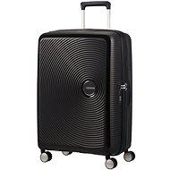 American Tourister Soundbox Spinner 67 Exp Bass Black - Cestovní kufr s TSA zámkem