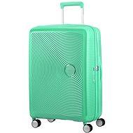American Tourister Soundbox Spinner 67 Exp Deep Mint - Cestovní kufr s TSA zámkem