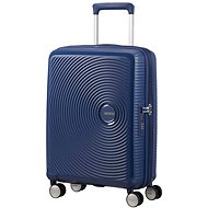 American Tourister Soundbox Spinner 55 Exp Midnight Navy - Suitcase with TSA-Approved Lock