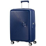 American Tourister Soundbox Spinner 67 Exp Midnight Navy - Cestovní kufr s TSA zámkem