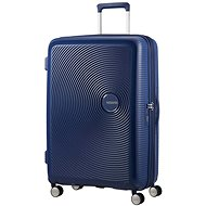 American Tourister SoundBox Spinner 77 Exp Midnight Navy - Suitcase with TSA-Approved Lock