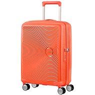 American Tourister Soundbox Spinner 55 Exp Spicy Peach - Cestovní kufr s TSA zámkem