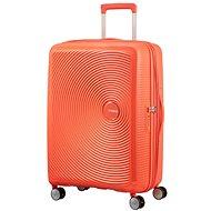 American Tourister Soundbox Spinner 67 Exp Spicy Peach - Cestovní kufr s TSA zámkem