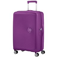 American Tourister Soundbox Spinner 67 Exp Purple Orchid - Suitcase with TSA-Approved Lock