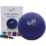 Kine-MAX Professional GYM Ball - modrý - Gymnastický míč