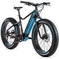 """Fat E-Bike Braga 26"""" černá mat/modrá 18"""" vel. M - Elektrokolo"""