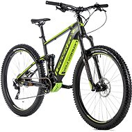 """Leader Fox Acron 29"""" černá mat/zelená 21,5"""" vel. XL - Elektrokolo"""
