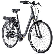 "Leader Fox Park City 28"" Grey 16.5"" - City E-Bike"